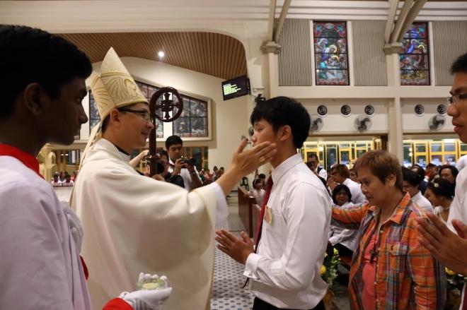 Bishop slap
